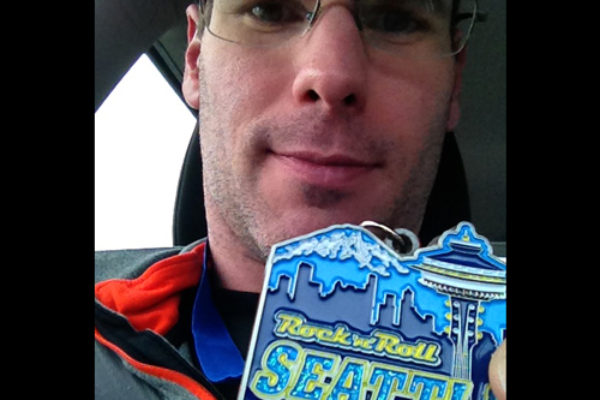 Seattle marathon complete