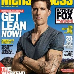 EJ Scott Featured in Men's Fitness Magazine