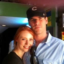 Deborah Ann Woll Stands By Her Man (EJ Scott) and Admires His Drive