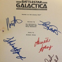 EJ Scott's Battle Star Gallactica Auction is Featured on EBay