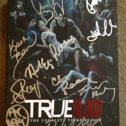 Win a Signed (11 signatures) True Blood Season 3 DVD