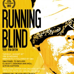 Running Blind screening in Malibu, CA on August 20