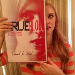 EJ is auctioning wonderful signed True Blood Items