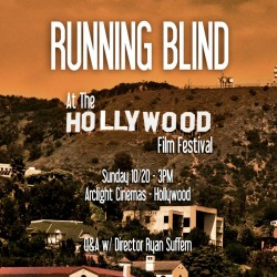 Running Blind Comes to Hollywood this Sunday!