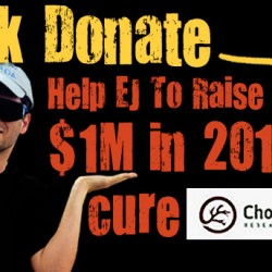 EJ's $1 Million Fundraising Goal for the CRF in 2014