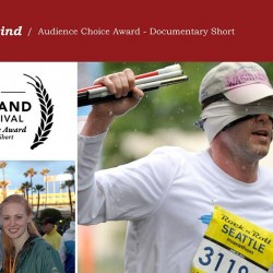 Running Blind wins Audience Choice Award