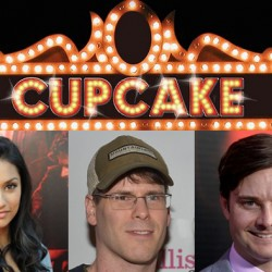 EJ Scott, Janina Gavankar and Michael McMillian at Cupcake Theater Tonight