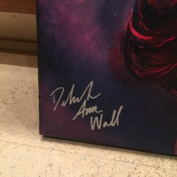 Win a painting of Deborah Ann Woll to Help EJ's Marathons