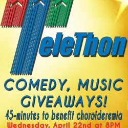 Mission Improvable Comedy Theater fundraiser for Choroideremia