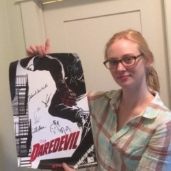 Win a Daredevil Poster signed by the cast