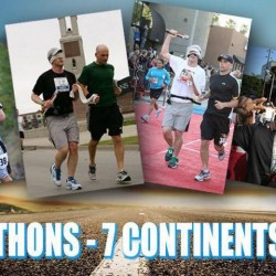 In 5 weeks EJ Scott begins 7 Marathons on 7 Continents in 2016
