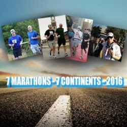 Help EJ to Run 7 Marathons on 7 Continents in 2016