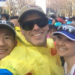EJ Scott Finished the Tokyo Marathon for 7 on 7