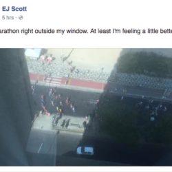 EJ misses his Marathon in Brazil due to illness
