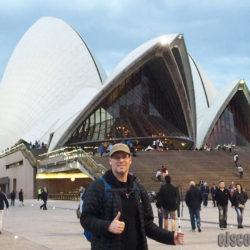EJ Runs Half Marathon in Sydney Australia