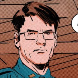 EJ is Officer Scott in Daredevil 11 Comic