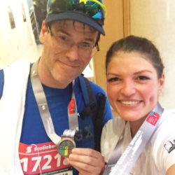 EJ finishes his last of 7 Marathons on 7 Continents – Toronto, Canada