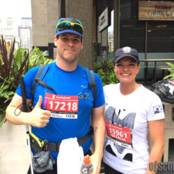 EJ Podcast #106 Toronto Marathon with his Guide Natalie